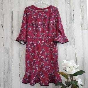 Nanette Lapore Burgandy Dress